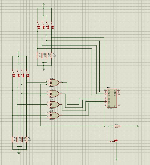 sumador restador 4 bits 1 - Sumador y restador 4 bits