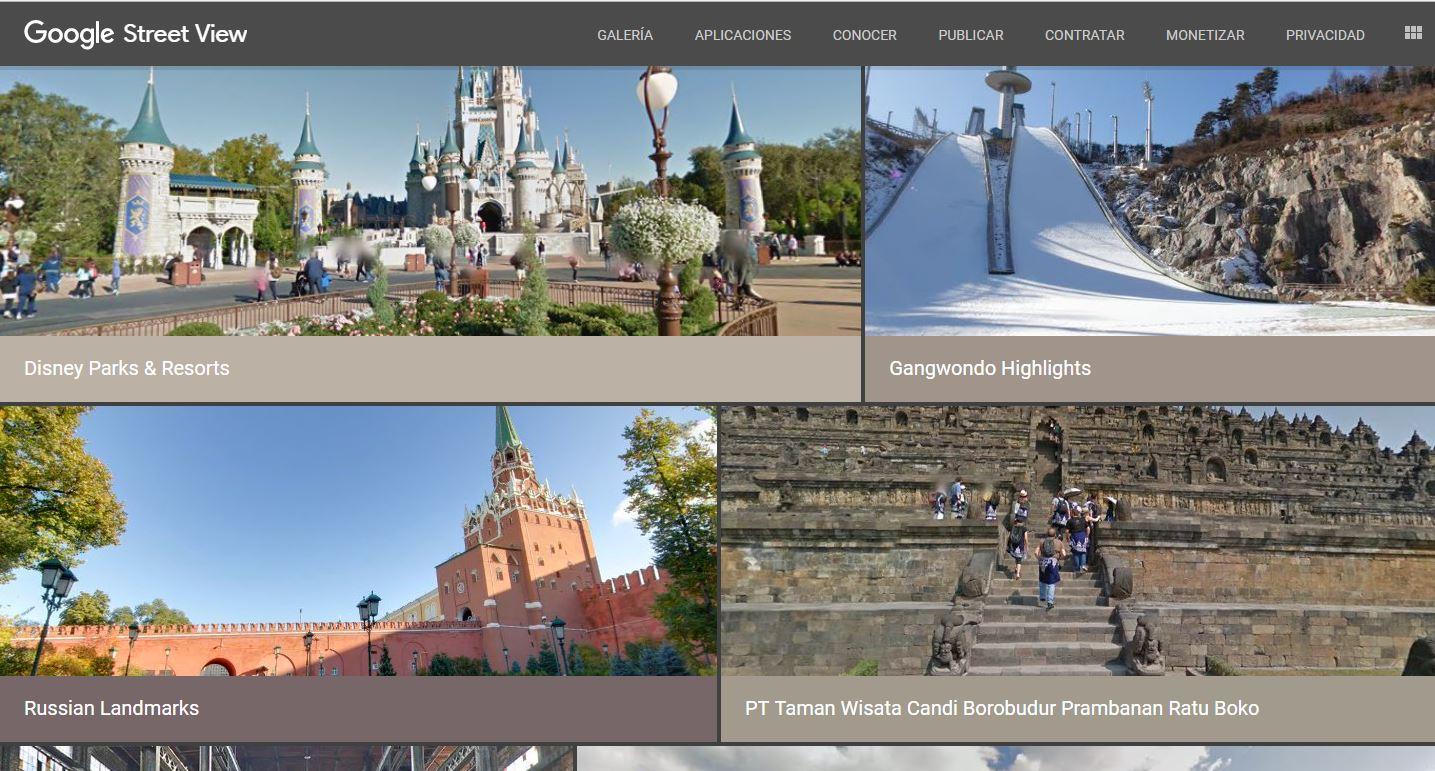 Google Street View - Las mejores 5 paginas divertidas para enseñar a niños y jóvenes
