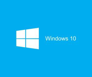Configurar la memoria virtual en Windows 10