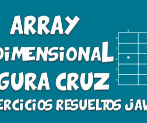 Array Bidimensional Java – Imprimir Figura Cruz