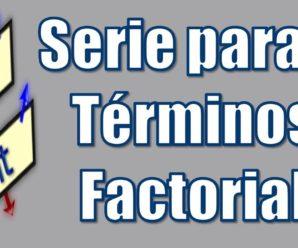 Serie con Fracciones con Denominador Factorial – PseInt