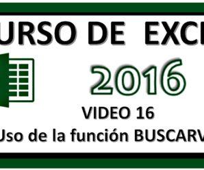 Usar función BUSCARV en Excel