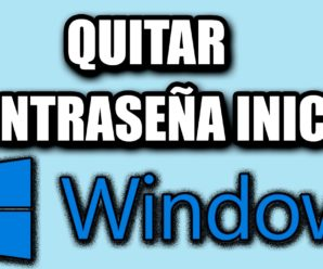 Cómo quitar contraseña de Inicio en Windows